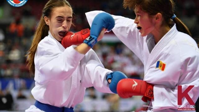 Aur pentru R.Moldova la Campionatul european de Karate WKF