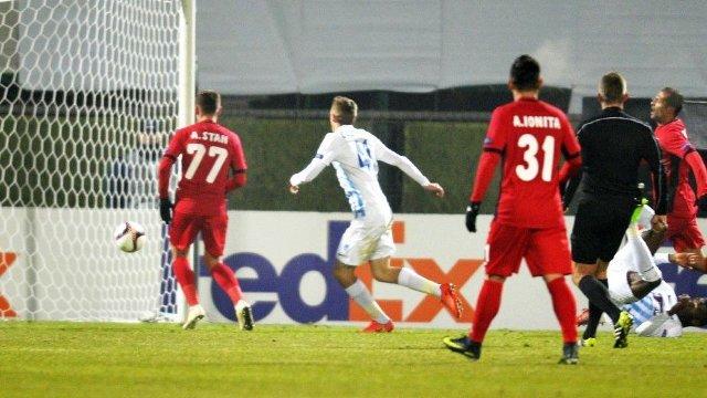 Liga Europa | Astra Giurgiu a remizat cu Genk, scor 2-2