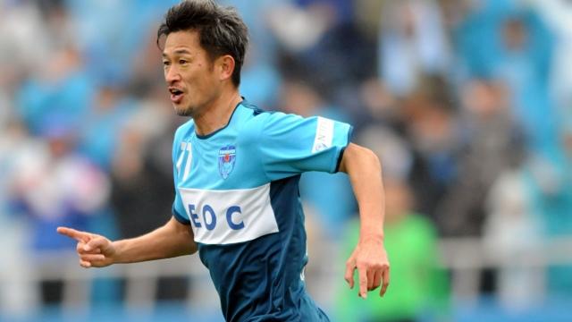 Japonezul Kazuyoshi Miura a devenit cel mai vârstnic fotbalist din toate timpurile