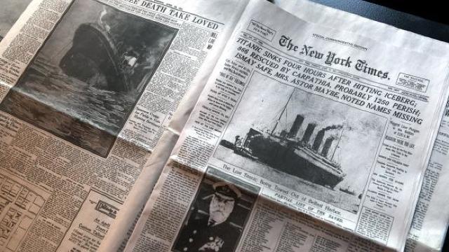 Se împlinesc 105 ani de când s-a scufundat Titanicul