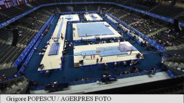 Campionatele Europene de gimnastică artistică încep, astăzi, la Cluj-Napoca