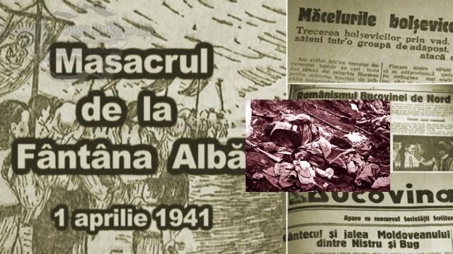 76 de ani de la masacrul de la Fântâna Albă