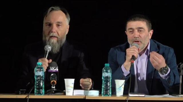 Ideologul lui Putin, Aleksandr Dughin, și-a lansat cartea în sediul Universității Dalles, aflată în subordinea Primăriei București