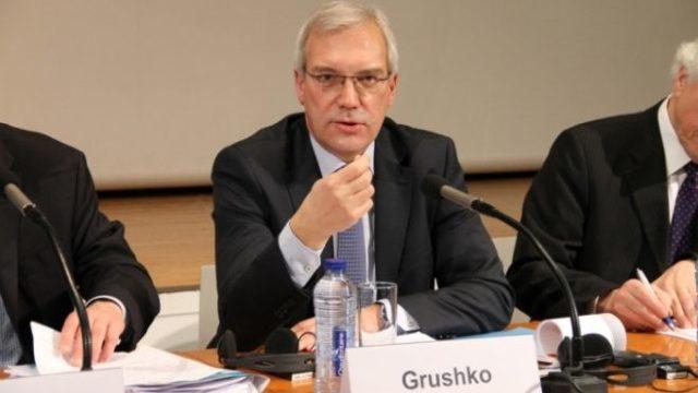 """Aleksandr Grușko: Consolidarea NATO în Europa a creat o """"situație periculoasă"""""""