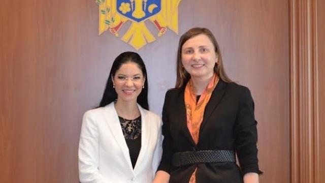 Viceministrul de Externe, Daniela Morari a avut o întrevedere cu ministrul român, Ana Birchall