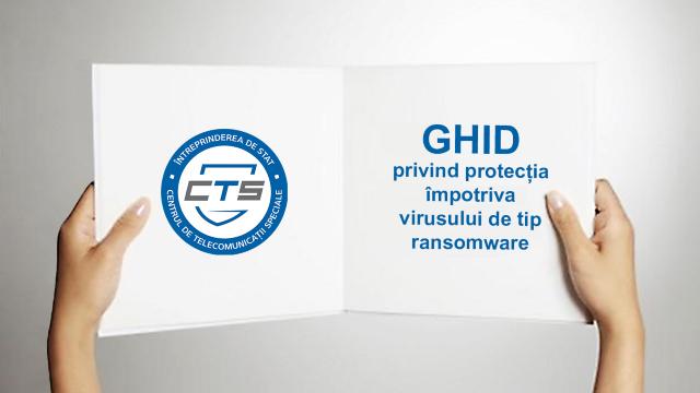 """Ghid privind protecția împotriva virusului de tip """"ransomware"""""""