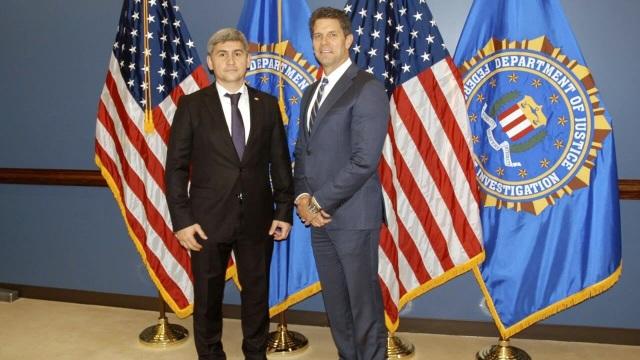 Delegația MAI condusă de ministrul Alexandru Jizdan, în vizită la Academia FBI din Quantico