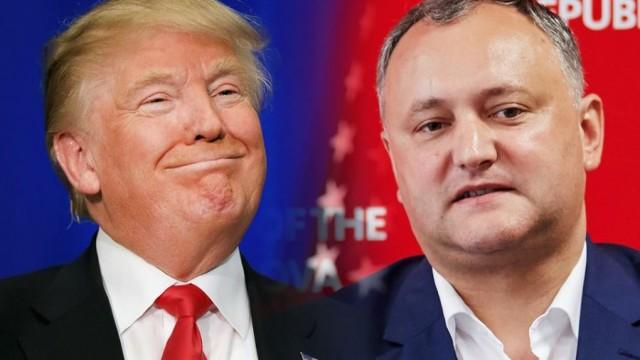 Asemănările dintre președintele american Trump și cel moldovean Dodon (Revista presei)