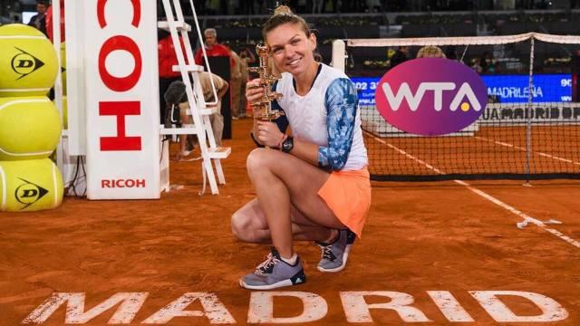 Simona Halep a câștigat turneul WTA de la Madrid pentru al doilea an la rând (FOTO/VIDEO)