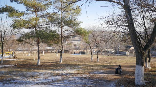 Maluri de Prut | Muntenii din Drajna dau o mână de ajutor la reabilitarea unui parc istoric din Republica Moldova