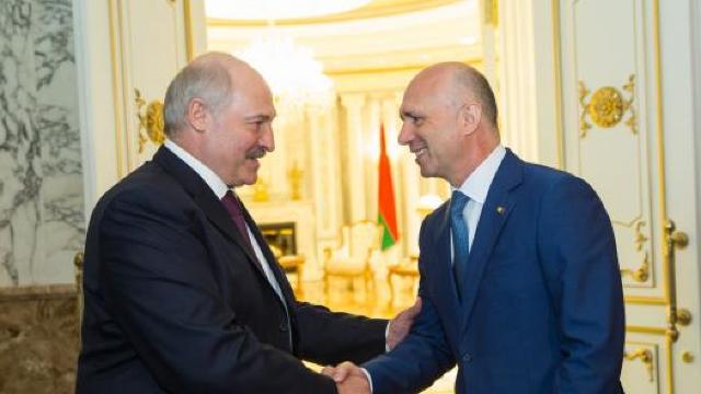 Pavel Filip a avut astăzi o întrevedere cu Alexandr Lukașenko