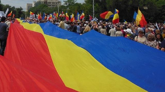 2018 – Centenarul Unirii | Autoritățile au autorizat desfășurarea unui tricolor de 100 de metri peste Prut