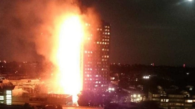 Londra | Incendiu la Grenfell Tower: 30 de morți, potrivit unui ultim bilanț