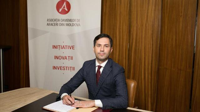Asociația Oamenilor de Afaceri, fondată de Vlad Plahotniuc, are un nou director general