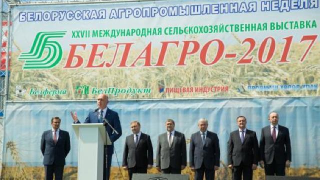 """Pavel Filip a participat la deschiderea expoziției """"Belagro"""" din Minsk"""