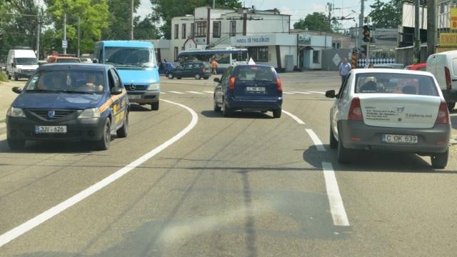 Un nou marcaj rutier va fi aplicat în Chișinău