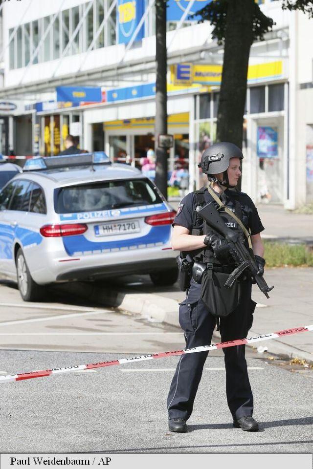 Germania | O persoană a fost ucisă și mai multe rănite într-un atac cu cuțitul într-un supermarket la Hamburg