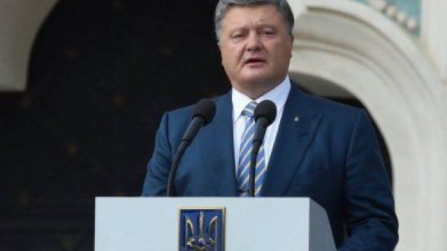 """Petro Poroșenko: Agresiunea rusă în Ucraina """"a trezit NATO"""""""