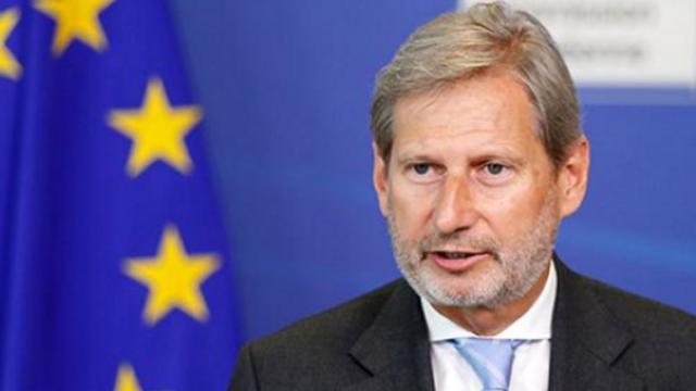 Comisarul european Johannes Hahn s-a întâlnit cu liderii opoziției extraparlamentare de la Chișinău