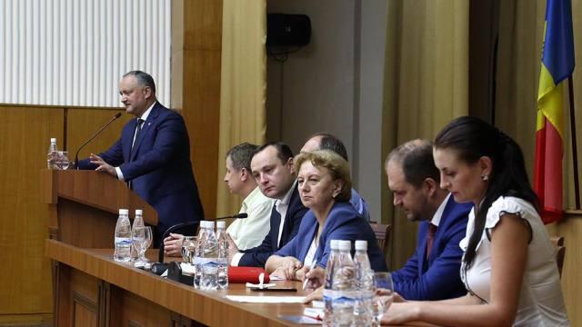 Nemulțumit de decizia CC, Consiliul Republican al PSRM și Igor Dodon anunță proteste în ziua când urma să aibă loc referendumul