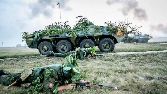 """Trupele ruse din Transnistria continuă exercițiile militare, sub paravanul """"misiunii de pacificare"""""""
