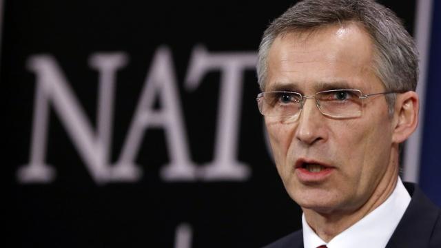 Jens Stoltenberg a discutat cu miniștrii de externe turc și german pe tema disputei privind bazele aeriene