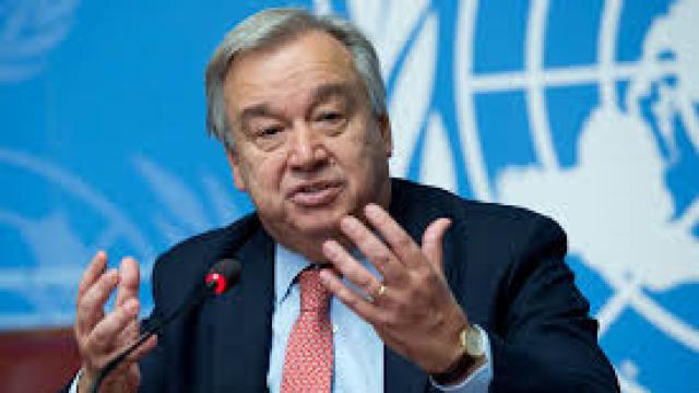 Antonio Guterres | Au mai rămas doi ani în care putem acționa pentru combaterea schimbărilor climatice