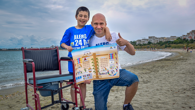 Concept unic în Europa | Plajă pentru persoane cu dizabilități, la Constanța