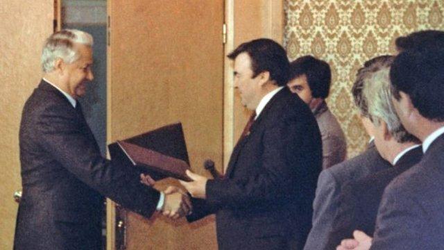 25 de ani de la semnarea acordului de pace cu Rusia care a pus capăt războiului de la Nistru