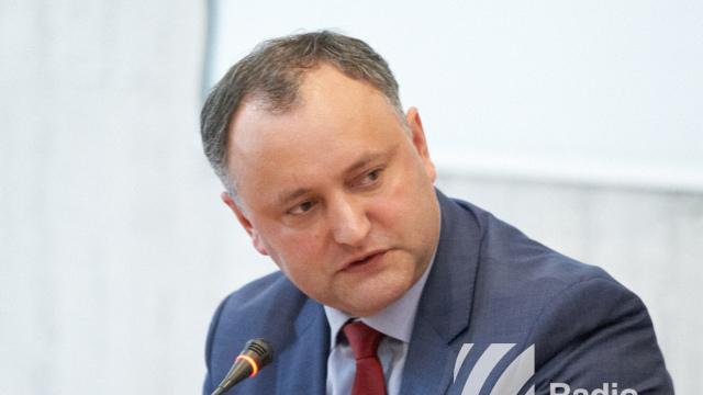 Igor Dodon pleacă într-o vizită de lucru la Minsk