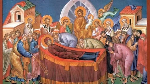 Creștinii ortodocși sărbătoresc Adormirea Maicii Domnului