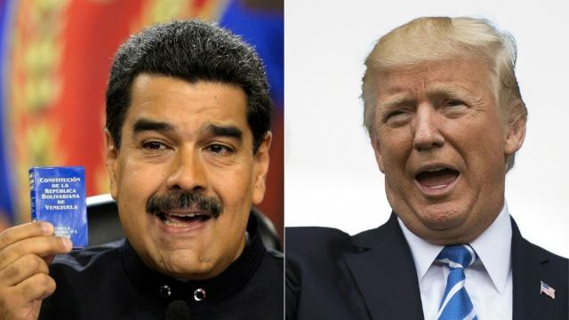 Donald Trump amenință Venezuela cu o opțiune militară
