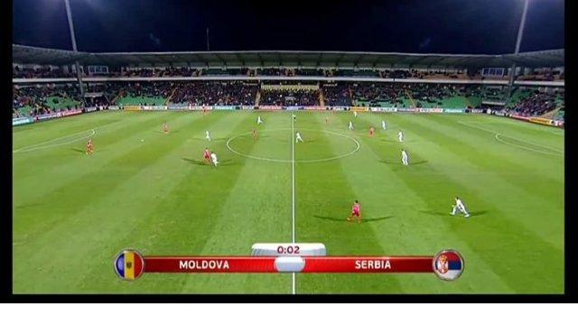 Echipa națională de fotbal a suferit eșec și în meciul retur cu formația Serbiei