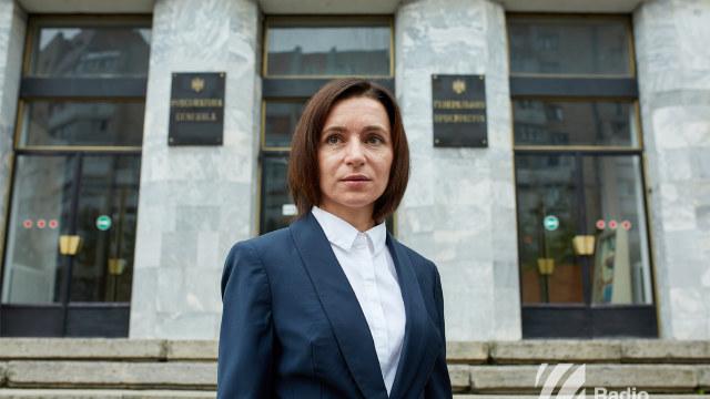 Maia Sandu a fost chemată la Procuratură pe 12 octombrie