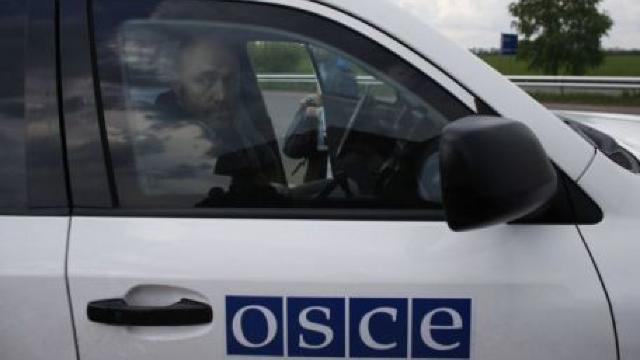 Observatorii OSCE au înregistrat prezenţa a 40 de tancuri în apropiere de oraşul Doneţk