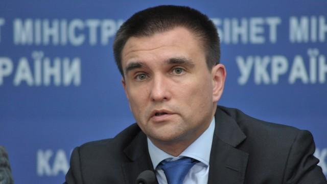 Ministrul de externe al Ucrainei, Pavel Klimkin, a făcut apel la țările UE să dea un răspuns
