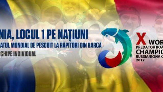 România, campioană mondială la pescuit răpitori din barcă