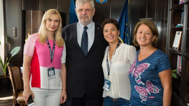 Jurnaliştii Radio Chişinău, parte a echipei Radio România