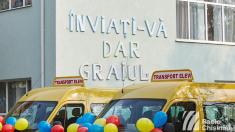 Au demarat lucrările de construcție a noului bloc al liceului românesc din Comrat. România a finanțat proiectul cu 15 milioane de lei