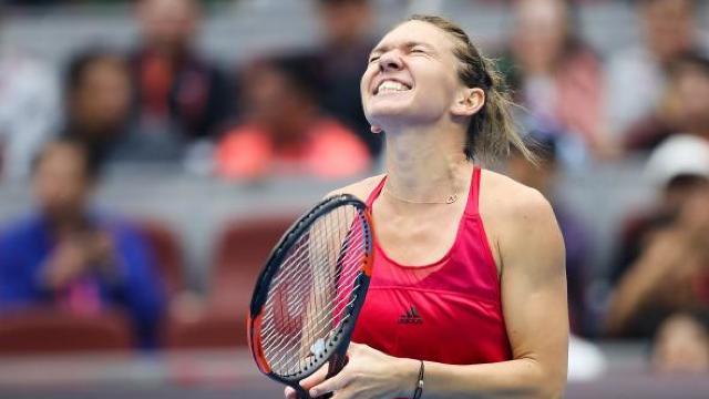 Simona Halep a pierdut finala turneului de la Beijing