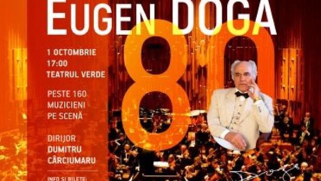 Teatrul Verde din Chișinău va găzdui un concert aniversar, dedicat maestrului Eugen Doga
