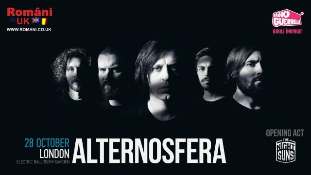 Trupa de rock Alternosferaconcertează pentru prima dată la Londra