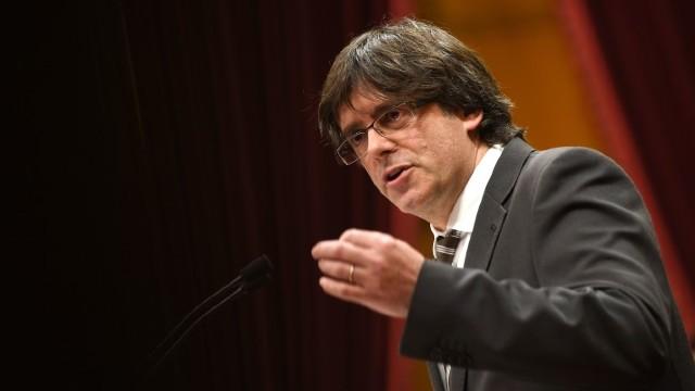 Carles Puigdemont: Guvernul spaniol s-a proclamat în mod ilegal ca reprezentant al catalanilor