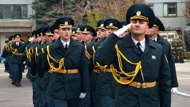 FOTO | Batalionul de Gardă al Armatei Naționale a împlinit 25 de ani