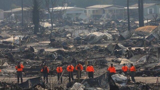 Statele Unite | Bilanțul violentelor incendii din California a crescut la 32 de morți (FOTO)