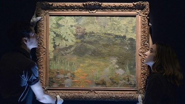 Ultimul tablou pictat înainte de moarte de Winston Churchill va fi scos la licitație la Londra