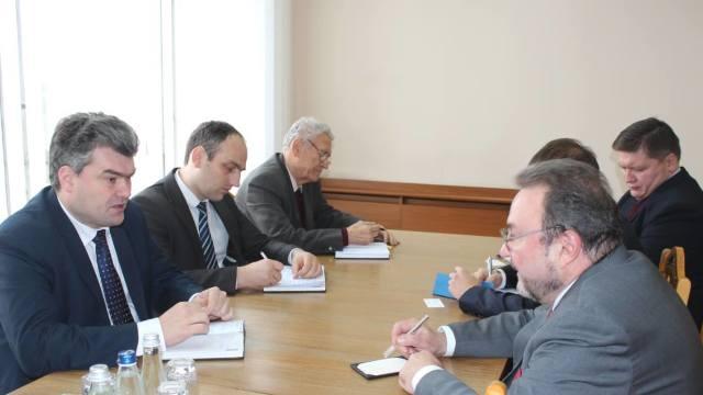 Gubarev la Chișinău | Vicepremierul Gheorghe Bălan s-a întâlnit cu reprezentantul Moscovei pentru Transnistria