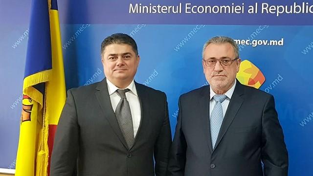 Aspectele colaborării comercial-economice, discutate de miniștrii economiei de la Chișinău și București