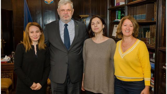 Programul de pregătire profesională a jurnaliştilor de la Radio Chişinău la București continuă
