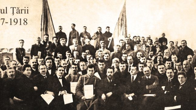 Se împlinesc 100 de ani de la convocarea primei şedinţe a Sfatului Ţării